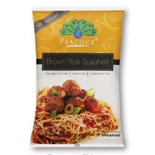 NATURAL BROWN RICE PASTA SPAGHETTI 200GRAMS