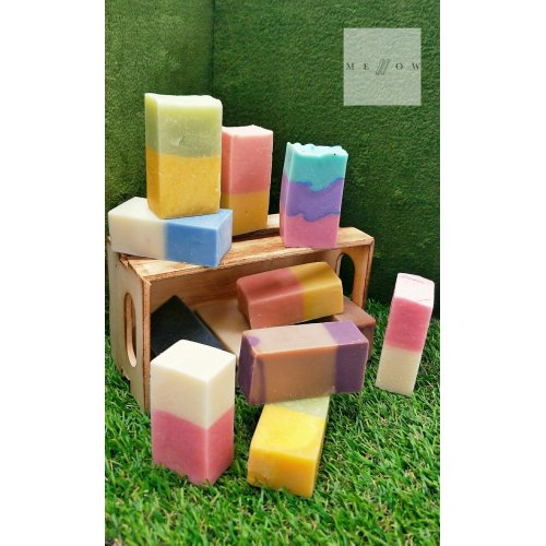 Cold Processed Soap PEPPERMINT by Mellow & Co