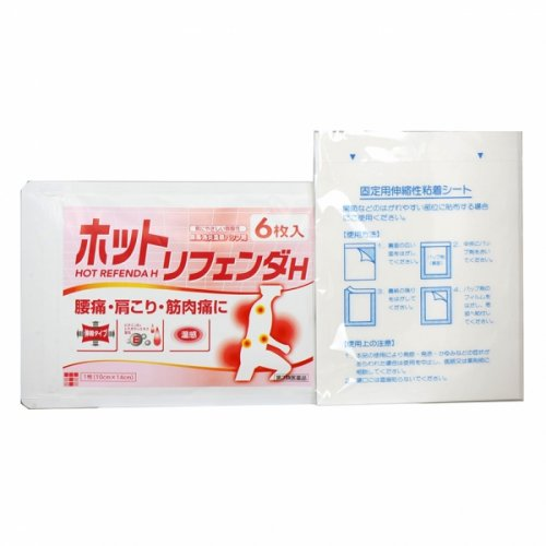 HOT REFENDA H - 6 PATCH + 6 ADHESIVE SHEETS *OUT OF STOCK*
