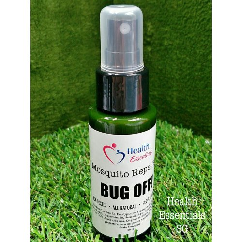 BUG OFF! 100% Natural Insect Repellent