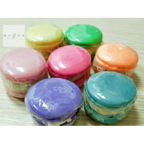 Cold Processed Soap MACARONS by Mellow & Co
