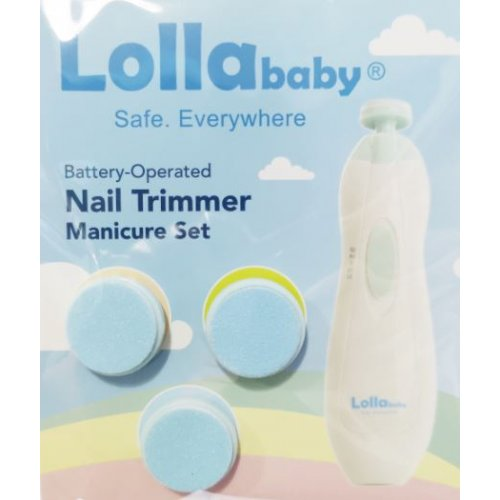 Nail Trimmer Baby Nail File Attachments (Blue) *For 12 months and above*