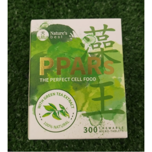 NATURE'S BEST PPARS GREEN TEA EXTRACT 100% NATURAL ,300 tablets