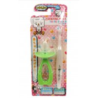 DentalPro To-Fu Oyako Babyage Toothbrush - Green (For 0-1.5 Years Old)