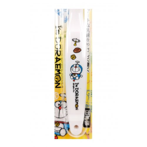 EBISU Doreamon Toothbrush White (0.5-3 years old)