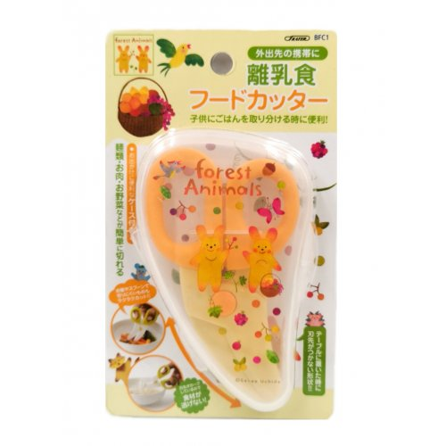 SKATER Baby Food Utility Knife Forest Animals