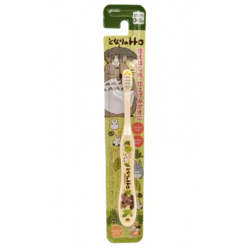 SKATER Totoro Toothbrush (0-3 years old)