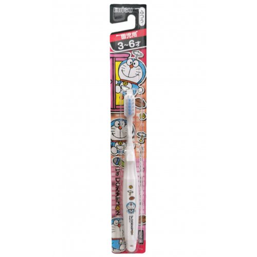 EBISU Doreamon Toothbrush White (3-6 years old)